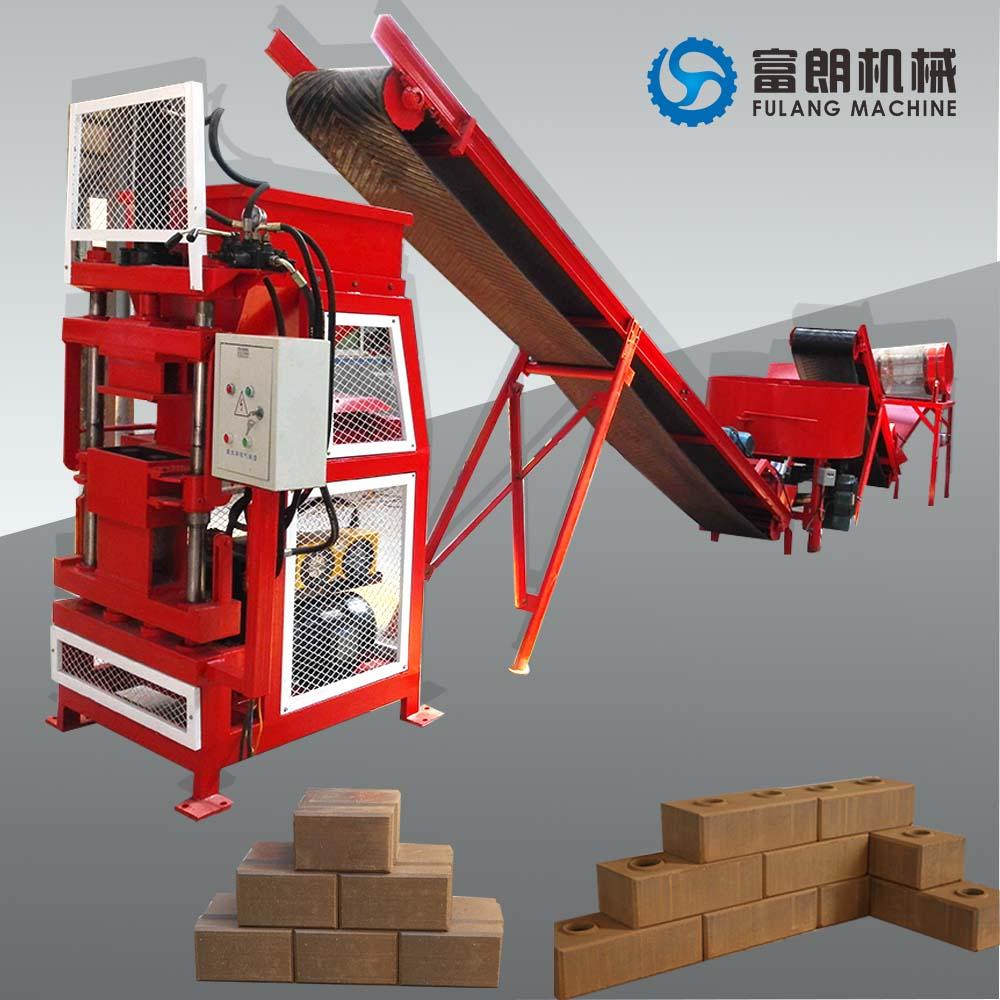 Automatic Interlocking brick machine