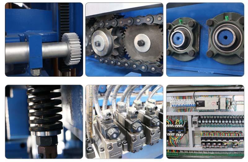 QTF10-15 block machine details show
