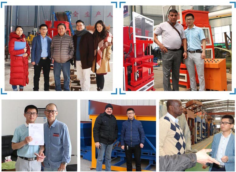 customers from abroad visit our factory