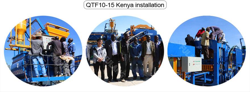 installation in Kenya