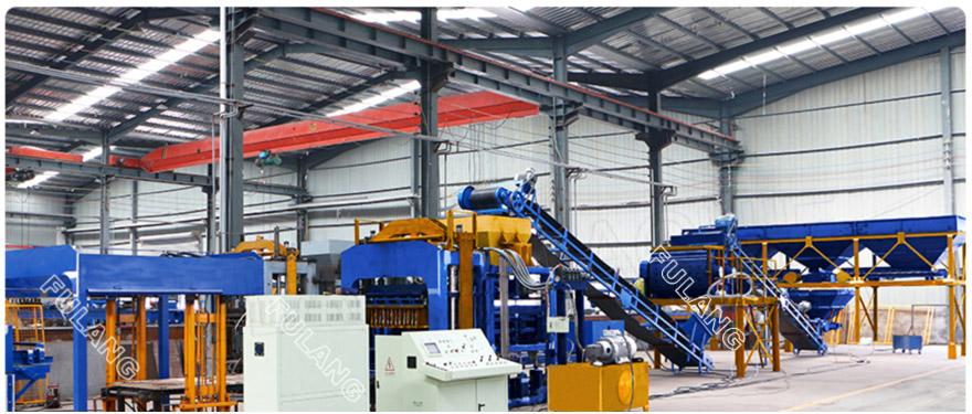 automatic hydraulic concrete block machine