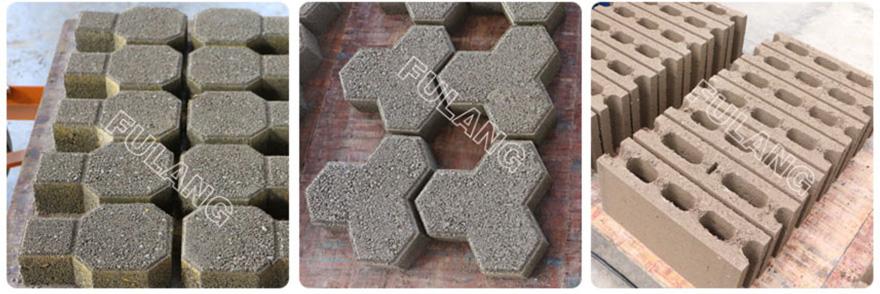 concrete cement block samples