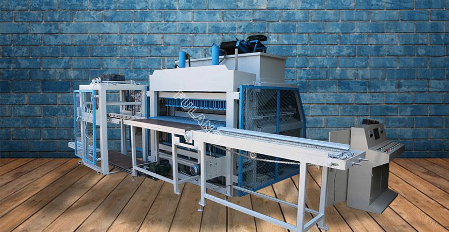 automatic earth compressed brick making machine