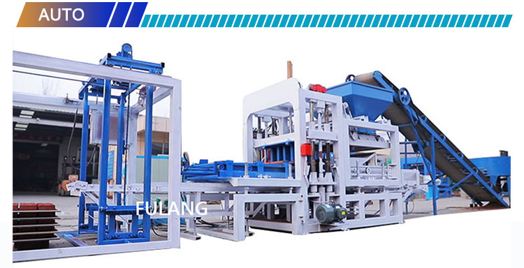 QTF4-18 production line