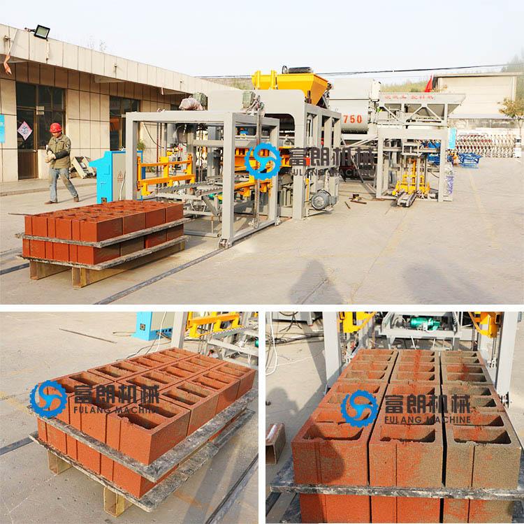 QTF15-15 fully automatic concrete block making machine