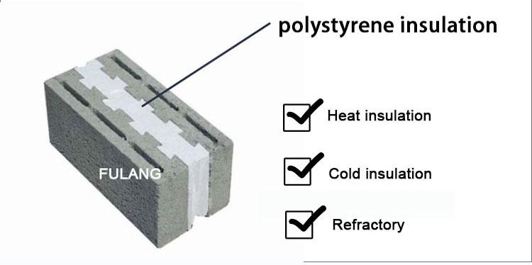 EPS insulation blocks
