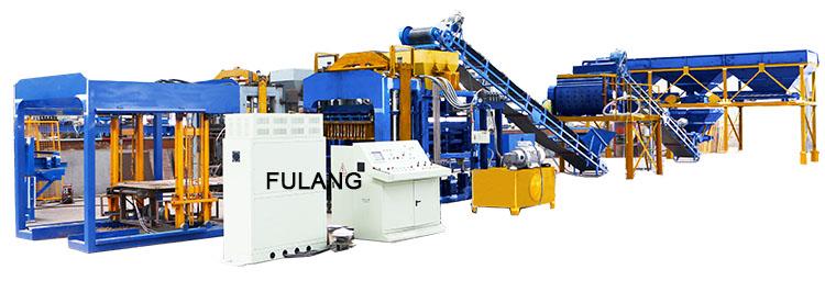 QTF10-15F automatic insulation block making machine