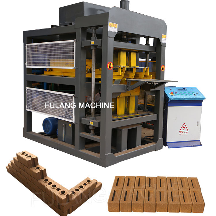 automatic clay brick making plant
