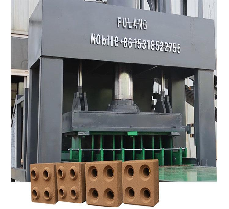 FL5-10 auto compressed earth block machine