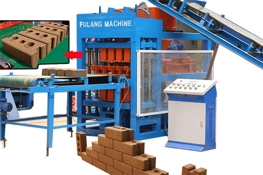 clay soil brick making machine