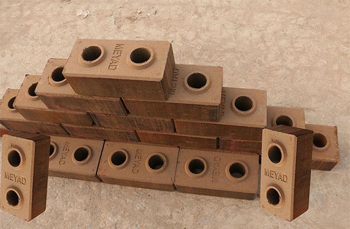 compressed earth block samples